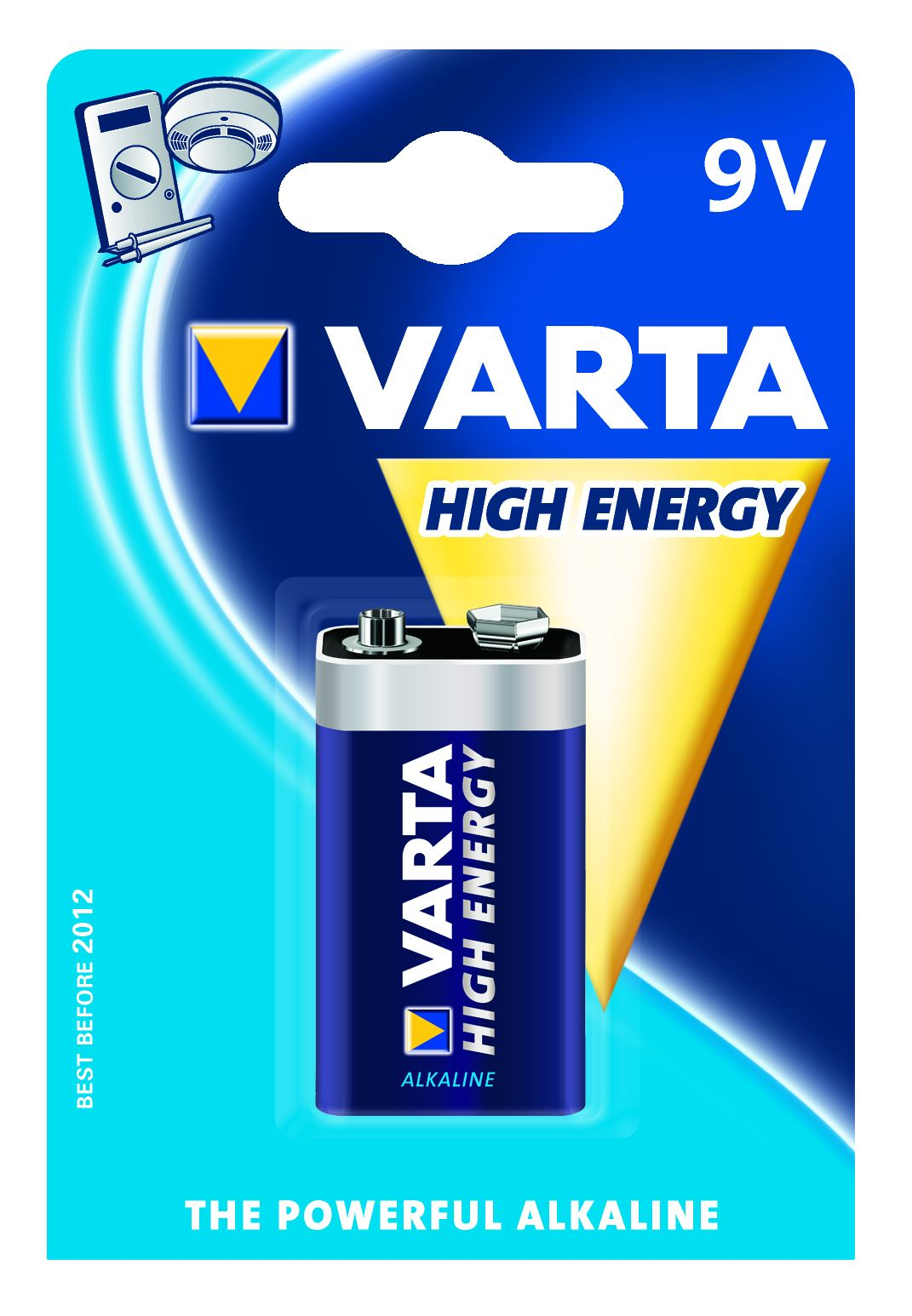 HIGH ENERGY 9V     ALKALINE BL.1 VARTA