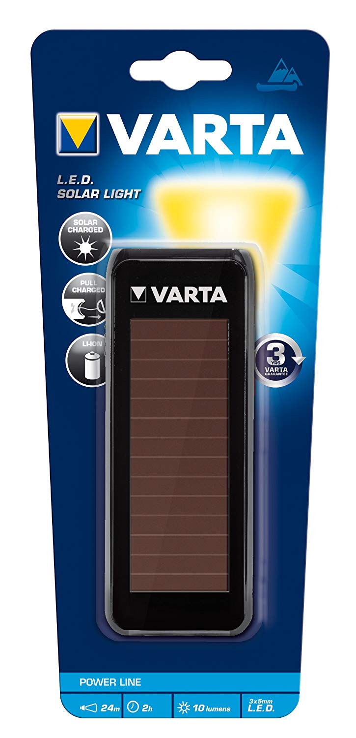 17690 SOLAR LEDX3 LIGHT VARTA