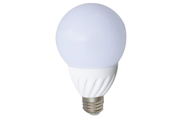 LAMPADA LED 5W E27 MINI GLOBO 3000 K CORPO CERAMICO  LIGHTX