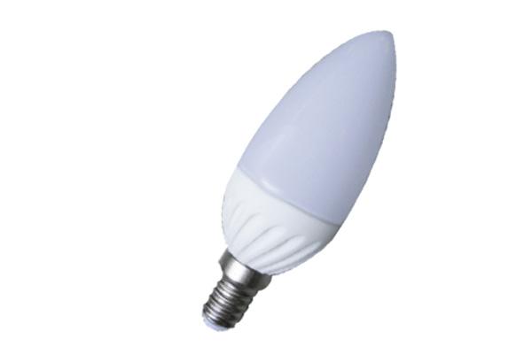 LAMPADA LED 5W E14 MINI OLIVA 2700K  LIGHTX
