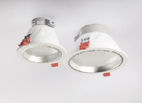 LAMPADA LED DA CONTROSOFFITTO 20W 2700K BIANCO  FORO 210 MM  LIGHTX