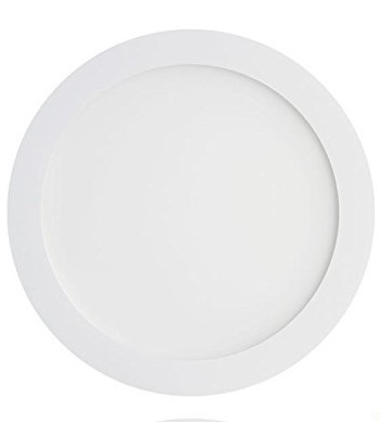 FARETTO LED ULTRAPIATTO 20W 3000K BIANCO CALDO  205 MM.  LIGHTX
