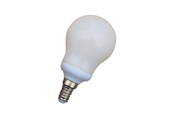 LAMPADA BASSO CONSUMO 11W GLOBO MINI 2700K E14  LIGHTX