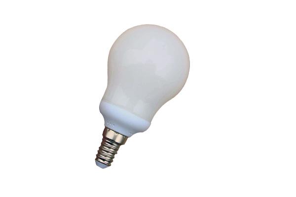 Lampada Tubolare E14 : Lampada basso consumo w globo mini k e lightx