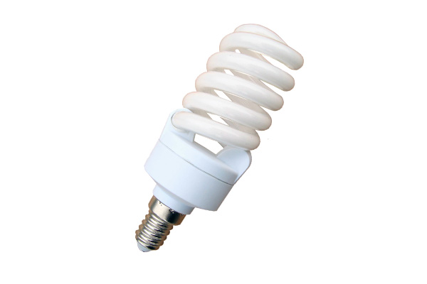 LAMPADA BASSO CONSUMO 15W SPIRALE MINI 2700K E14  LIGHTX