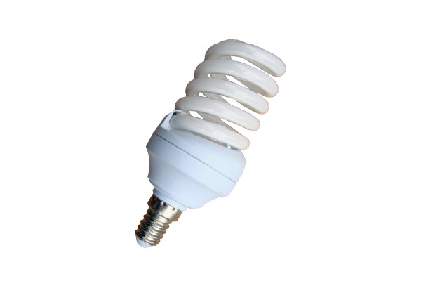 LAMPADA BASSO CONSUMO 20W SPIRALE 2700K E14  LIGHTX