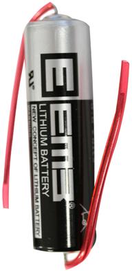 BATT.LITHIO AA 3.6V 2400MAH C/REOFORI