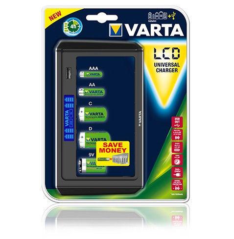 LCD UNIVERSAL CHARGER VARTA