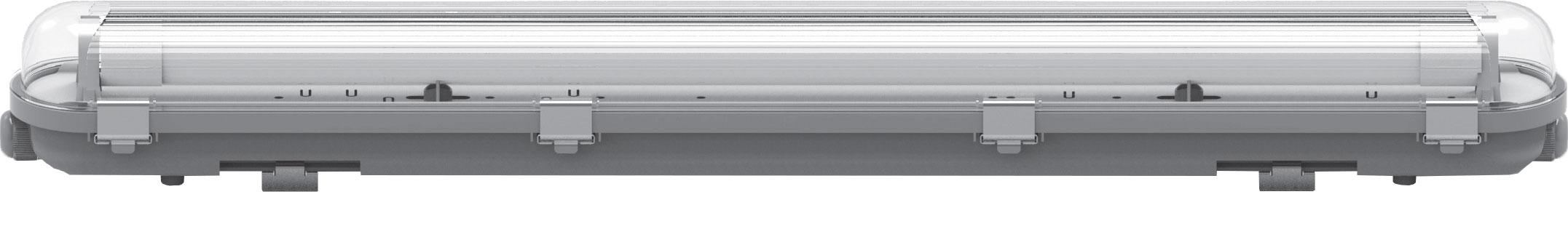 MILANO X LED DOPPIO TUBO POLICARBONATO  1200MM (2X36) IMPERIA
