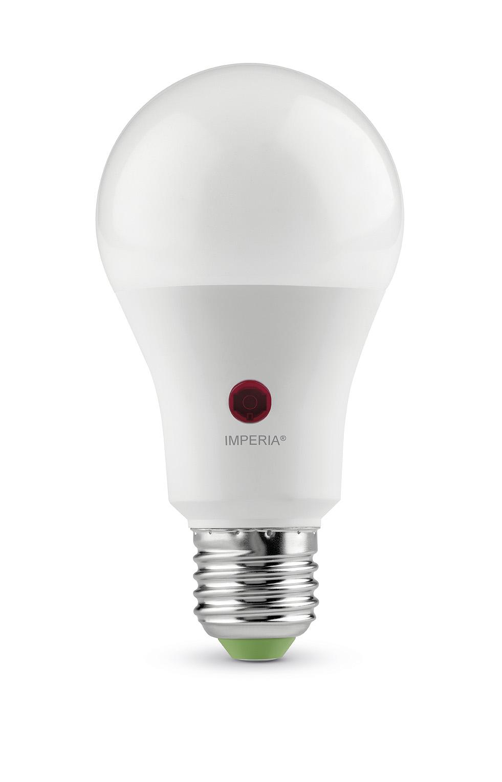 SENSORLIGHT LED GOCCIA SENSOR E27 12W 230V 6000K 20000H IMPERIA