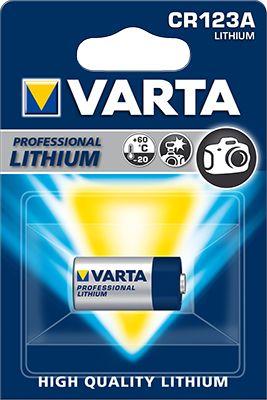 VARTA  CR123A LITHIO BL.1 3V